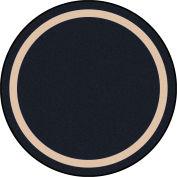 """Joy Carpets Portrait™ Classroom Carpets 13'2"""" Round, Onyx - 1479XLE-06"""