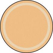 """Joy Carpets Portrait™ Classroom Carpets 13'2"""" Round, Sandstone - 1479XLE-07"""