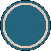 """Joy Carpets Portrait™ Classroom Carpets 13'2"""" Round, Seaside - 1479XLE-08"""