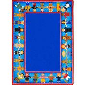 "Joy Carpets Children of Many Cultures™ Classroom Carpets 7'8"" x 10'9"", Multi - 1622D"