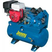 Jenny® Service Vehicle Compressor G11HGA-30T, 11HP, Honda Electric Start, 125 PSI, 30 Gal