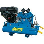Jenny® Wheeled Portable Compressor G9HGA-8P, 9HP, Honda Rope Start, 125 PSI, 8 Gal