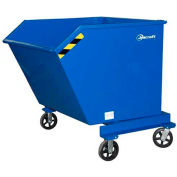 Jescraft™ Mobile Self-Dumping Hopper DHM-15PH8-2R2S 2000 lb. 1.5 Cu. Yd. Capacity