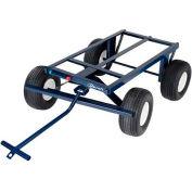 "Jescraft™ 4-Wheel Steel Utility Trailer FWT-3048-18 48""L x 30"" - 2000 Lb. Capacity"