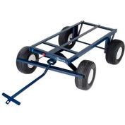 "Jescraft™ 4-Wheel Steel Utility Trailer FWT-3060-18FF 60""L x 30"" - 2000 Lb. Capacity"