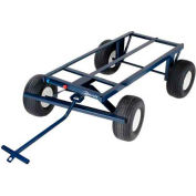"Jescraft™ 4-Wheel Steel Utility Trailer FWT-3072-18FF 72""L x 30"" - 2000 Lb. Capacity"