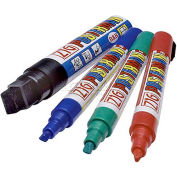 Magic Master Repl. Markers For The White Write-On/Wash Off Marker Boards-Red, Blue, Green & Black