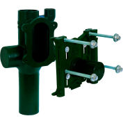 """Josam 12714-OR Single, Vertical, Right Hand 2"""" Vent, No-Hub, O-Ring Type Water Closet Carrier"""