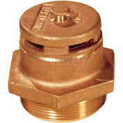Justrite® 8101 Brass Vertical Safety Drum Vent for Petroleum Based Applications