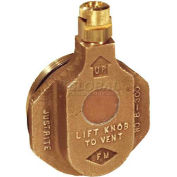 Justrite® 8300 Brass Horizontal Safety Drum Vent for Petroleum Based Applications