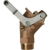Justrite® 8552 Brass Drum Gate Valve for Viscous Liquids