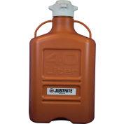 Justrite 12923 Carboy, HDPE, 40-Liter