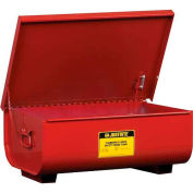 Justrite Bench Top Rinse Tank, 22-Gallon, Red, 27322