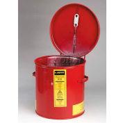Justrite Dip Tank, 2-Gallon, Red, 27602