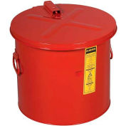 Justrite Dip Tank, 8-Gallon, Red, 27608