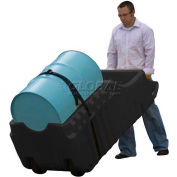 Justrite® 28665 66 Gallon Spill Containment Caddy - Black