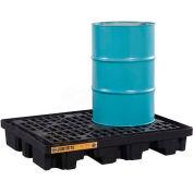 Justrite® 28672 2 Drum EcoPolyBlend™ Low Line Pallet