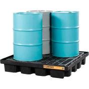 Justrite® 28673 4 Drum EcoPolyBlend™ Low Line Pallet