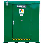 Justrite Agri-Turf™ Outdoor Chemical Storage Building 914160 - 506-Cu Ft