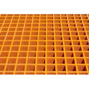 Justrite Fiberglass Floor Grating with Sump Liner 915207 - for 9 Drum Chemical Storage Buildings
