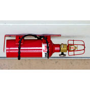 Justrite Fire Protection, Basic, FE-227 Extinguisher Unit 915401 - 2 Drum Chemical Storage Buildings