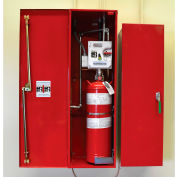 Justrite Fire Suppression, Dry Chemical System 915405 - for 6 to 16 Drum Chemical Storage Buildings