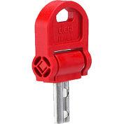 21mm Folding Security Key - J.W. Winco EN5337.8-CSN