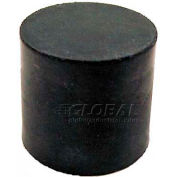 "Vibration/Shock Absorption Mount, Tapped Hole, 1.00"" Dia, .75""H, 1/4-20 Thread"