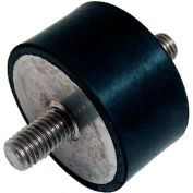 "J.W. Winco, Vibration Isolation Mounts Cylindrical Type, .39"", 20.0072 Max Load"