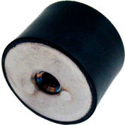 "J.W. Winco, Vibration Isolation Mounts Cylindrical Type, 2.36"", 741.84 Max Load"