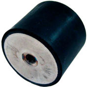"""J.W. Winco, Vibration / Shock Absorption Mounts Cylindrical Type, 1.57"""", 409.136 Max Load"""