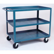 Jamco 3 Shelf Service Cart SC272 1200 Lb. Capacity 24 x 72