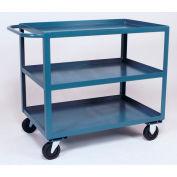 Jamco 3 Shelf Service Cart SC460 1200 Lb. Capacity 36 x 60