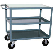 Jamco 3 Shelf Service Cart SF448 2400 Lb. Capacity 36 x 48