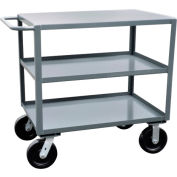 Jamco 3 Shelf Service Cart SK230 4800 Lb. Capacity 24 x 30