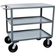 Jamco 3 Shelf Service Cart SK248 4800 Lb. Capacity 24 x 48