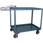 Jamco 2 Shelf Order Picking Cart SO260 1200 Lb. Capacity 24 x 60