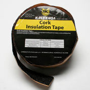 "K-Flex Cork Tape, 1/8"" Thick X 2"" Wide X 30' Per Roll - Pkg Qty 12"