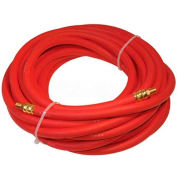 "K-Tool International KTI-72050 3/8""x50' 300 PSI 1/4"" NPT Rubber Air Hose"