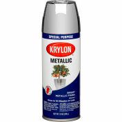 Krylon Metallic Paint Chrome Aluminum - K01404007 - Pkg Qty 6