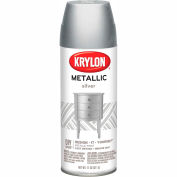 Krylon Metallic Paint Silver Metallic - K01406007 - Pkg Qty 6