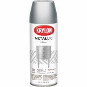 Krylon Metallic Paint Silver Metallic - K01406 - Pkg Qty 6