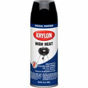 Krylon High Heat Paint Black - K01618A00 - Pkg Qty 6