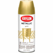 Krylon Metallic Paint Gold Metallic - K01706007 - Pkg Qty 6