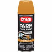 Krylon Farm And Implement Paint Old Cat Yellow - K01819 - Pkg Qty 6