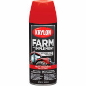 Krylon Farm And Implement Paint Massey Ferguson Red - K01822 - Pkg Qty 6