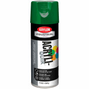 Krylon (5-Ball) Interior-Exterior Paint Emerald Green - K02016 - Pkg Qty 6