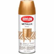 Krylon Metallic Paint Brass Metallic - K02204 - Pkg Qty 6
