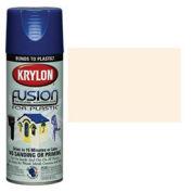 Krylon Fusion For Plastic Paint Gloss Dover White - K02322 - Pkg Qty 6
