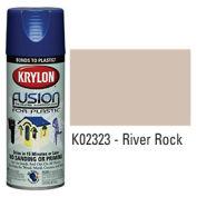 Krylon Fusion For Plastic Paint Gloss River Rock - K02323 - Pkg Qty 6